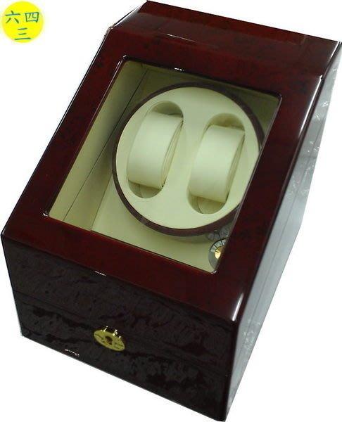(六四三精品)高級木製可放2只手錶之自動上鍊儲存盒(動力儲存盒),下層另可收藏3只手錶