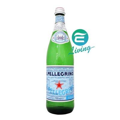 【易油網】S.Pellegrino 天然氣泡礦泉水(750mlx12入)
