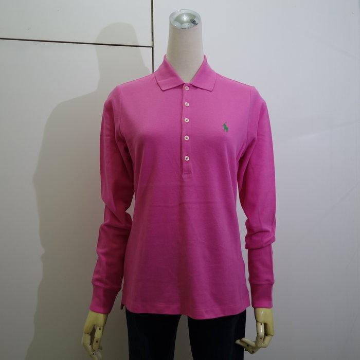☆注目のPOLO RALPH LAUREN   秋冬新款粉紅色小馬騎士長袖POLO衫☆