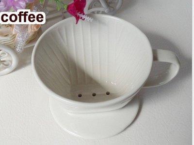 廚房大師-厚料滴漏式陶瓷咖啡濾器1-2...