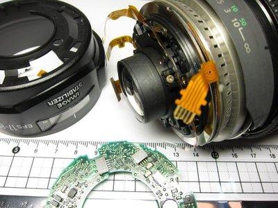 【數位達人相機維修】對焦故障 頓挫 CANON EF-S 17-85mm f4-5.6 IS 故障維修