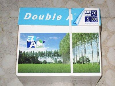 台中市部份地區10包免運費Double A 影印紙 A4 70磅 1包☆☆特價95元☆☆ 台中市