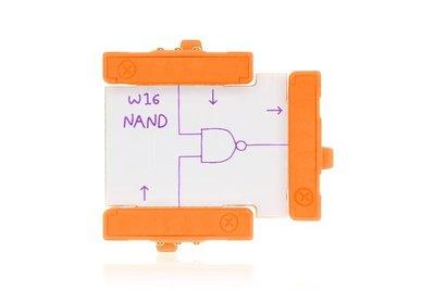 美國 littleBits 零件 (wire):  NAND (8折出清)