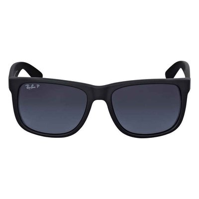Ray-Ban Justin Classic Polarized Grey Gradient  RB4165 622/T3 55男太陽眼鏡