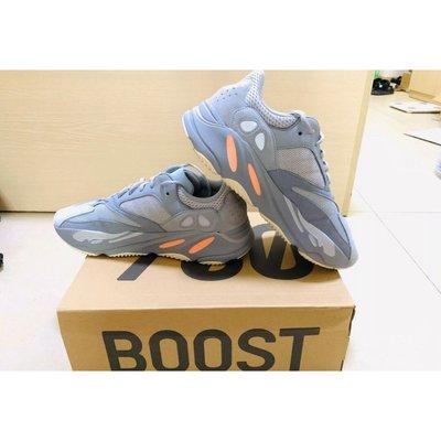 【YY推薦】Adidas Yeezy Boost 700 Inertia 慣性 藍灰橘 潮流鞋男女款 EG7597 正品