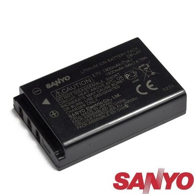【eWhat億華】SANYO 原廠電池 DB-L50A 適用DMX-C1 / DSC-C4 / DSC-C5 盒裝【1】