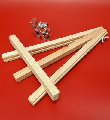 木架 木頭架 畫架 桌上展示架(大)
