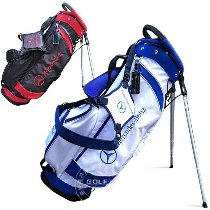 5C精選@奔馳Mercedes-Benz高爾夫球包男女雙肩背球杆包輕便防水布支架