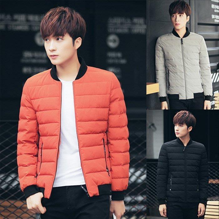 『潮范』 S12 新款男士棒球衣 棉衣外套 鋪棉外套 棉質立領外套 夾克 棒球外套NRG1176