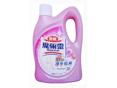 【B2百貨】 魔術靈地板清潔劑-水漾玫瑰(2000ml) 4710363954419 【藍鳥百貨有限公司】