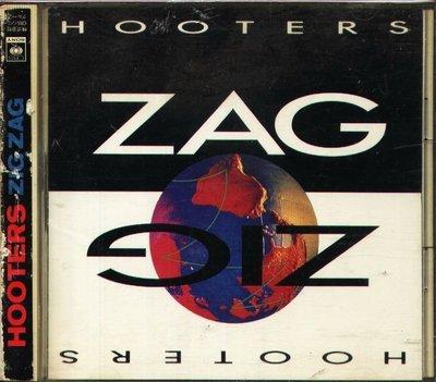 K - HOOTERS - ZIG ZAG - 日版 CD - 10Tracks OBI
