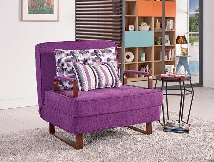 【DH】商品貨號G230-2商品名稱《尼德》布面造型沙發床。布套可拆洗/坐臥兩用。主要地區免運費