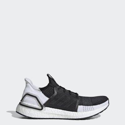 玉米潮流本舖 Adidas ultraboost 19 B37704 BOOST底 黑白色 編織 殺人鯨 慢跑鞋
