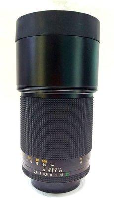 @佳鑫相機@(中古託售品)CONTAX Carl Zeiss T* Sonnar 180mm F2.8 CY接環