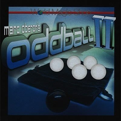 【意凡魔術小舖】 [魔術魂道具Shop] 美國原版 ~Odd Ball 2 by Marc Oberon~~黑白分明~~強力推薦!!