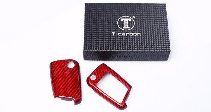 CS車宮車業 T-CARBON 碳纖維 鑰匙殼 VW Volkswagen 福斯 Golf 7 #DZC