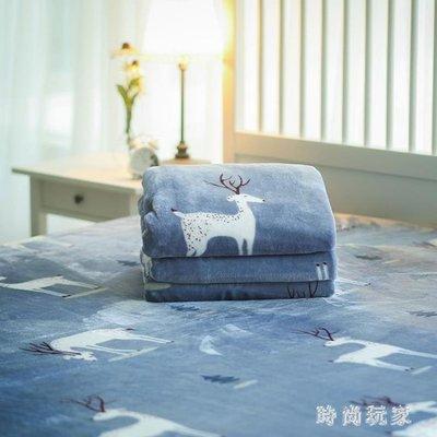 毛毯被子加厚冬季毛絨絨的珊瑚絨床單單件保暖法蘭絨雙面毯子zzy6080