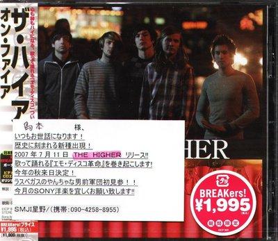 K - The Higher - On Fire - 日版 CD+1BONUS+1VIDEO - NEW