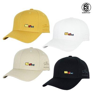 【PD帽饰】WayWard 人氣超夯 辛普森 四色 黑/黃/淺卡其/白 老帽 鴨舌帽⫷ScrewCap⫸