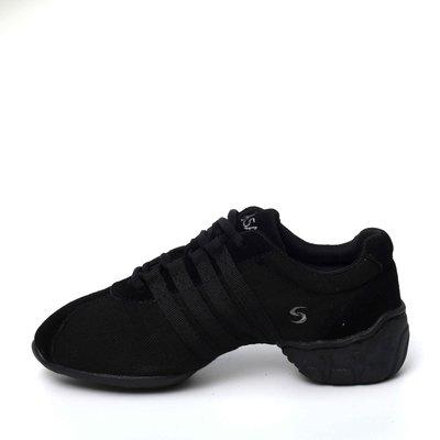 Afa安法國標舞鞋/拉丁舞鞋~~多功能運動舞鞋 原價$2,300~~70603 黑色邊條
