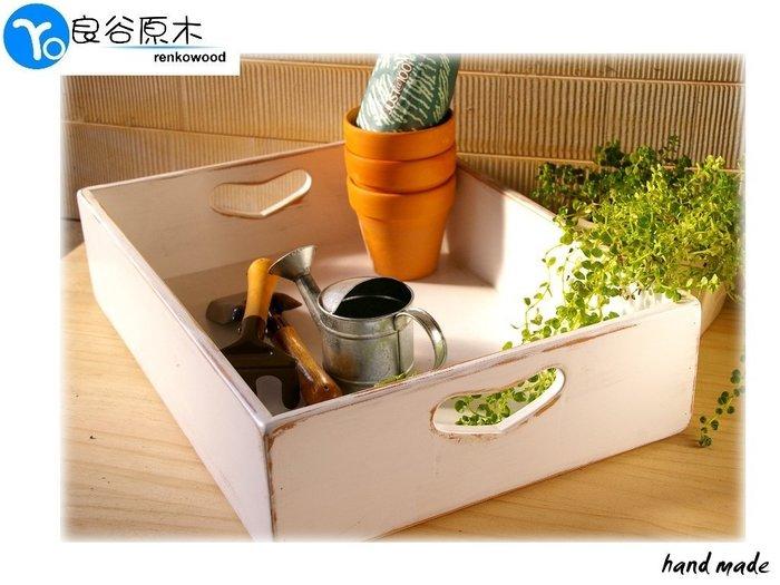 〝良谷原木〞鄉村原木收納箱/雜貨收納盒,文具收納、衣物整理、可愛超方便