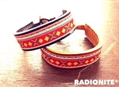 美國東村【RADIONITE】Changeable 牛角釦真皮手環 雙面皆可戴 咖啡/黑兩色