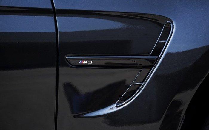 【樂駒】BMW 原廠 M Performance F80 M3 高亮黑 葉子板 飾板 空力 外觀 套件 精品 ///M