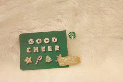美國 2014 GOOD CHEER 星巴克 STARBUCKS 隨行卡 儲值卡 星巴克卡 收藏