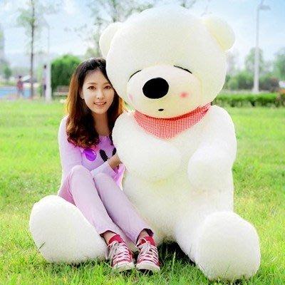 大型公仔 布娃娃可愛1.6米公仔毛絨玩具超大號熊抱枕大型抱抱熊女生 YTL