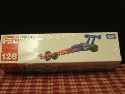 Tomica小汽車No.128(TM128A)DRAG CAR800873賽車(2014)