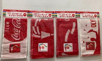 可口可樂  東京奧運 毛巾 共4條 免運