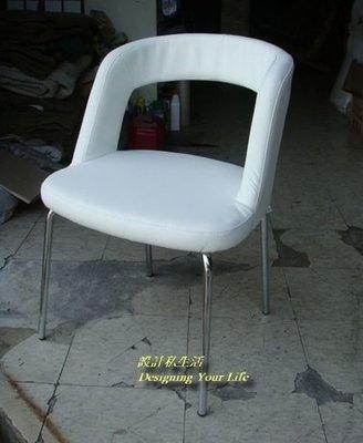 【設計私生活】C023白色造型椅、餐椅、書桌椅、化妝椅 (全館一律免運費)157