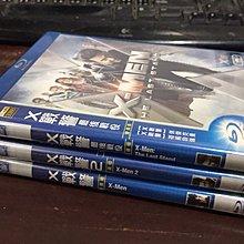 R01《好書321KB》【藍光BD】X戰警 1+2+3 -最後戰役 X-Men 1 2 3 -雙碟版-得利3片