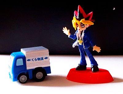 《廣寶閣》MKK019 日本迴力玩具車Q版くら物流卡車 & 景品可口可樂公仔 兩台70