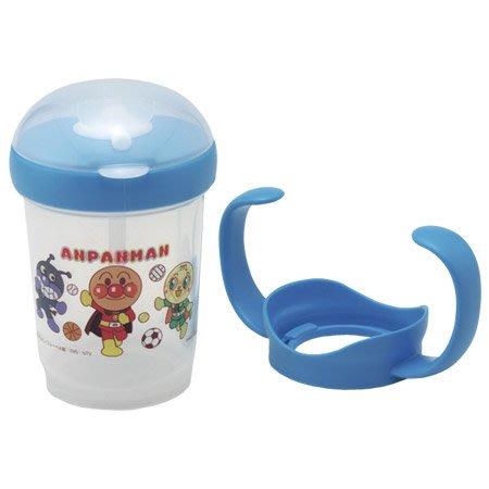 。小森親子好物。日本ANPANMAN麵包超人 學習杯 藍色 200ml (8個月以上) (現貨)【KF15120020】