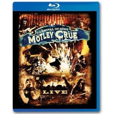 美版藍光BD~克魯小丑合唱團Motley Crue: Carnival of Sins Live~全新~下標就賣