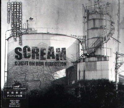 K - Scream - Count On Dim Direction - 日版 - NEW
