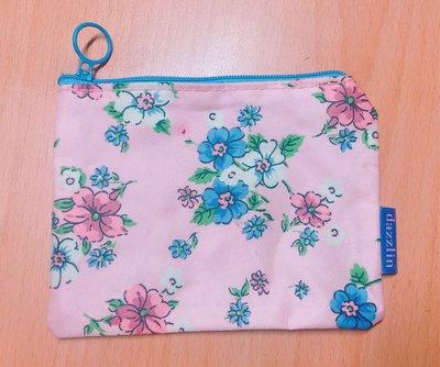 dazzlin 可愛花朵小化妝包 零錢包 小物包 收納包(粉色)