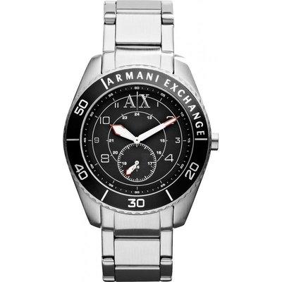 現貨【A|X ARMANI EXCHANGE- AX 1263】全新正品 時尚 運動 名錶.手錶 / 不鏽鋼黑色