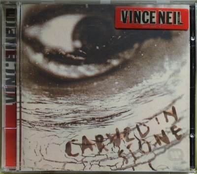 Motley Crue主唱 Vince Neil - Carved In Stone 二手德版