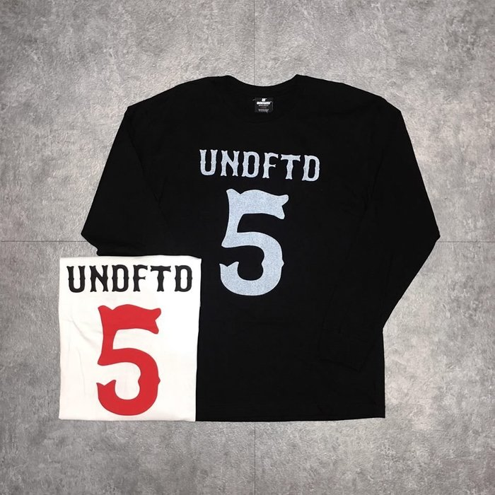 【Faithful】Undefeated LS UNDFTD BIG 5 TEE 【UNDFTD_TEE47】兩色
