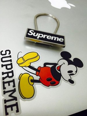 【Meaningful store】2015 F/W SUPREME CLIP KEYCHAIN 吊飾 鑰匙圈 黑色