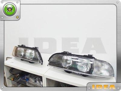 泰山美研社C290 BMW 寶馬 E39 大燈總成 白色