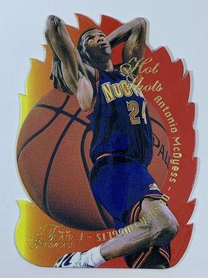 1996-97 Flair Showcase Hot Shots #17 Antonio McDyess Nuggets