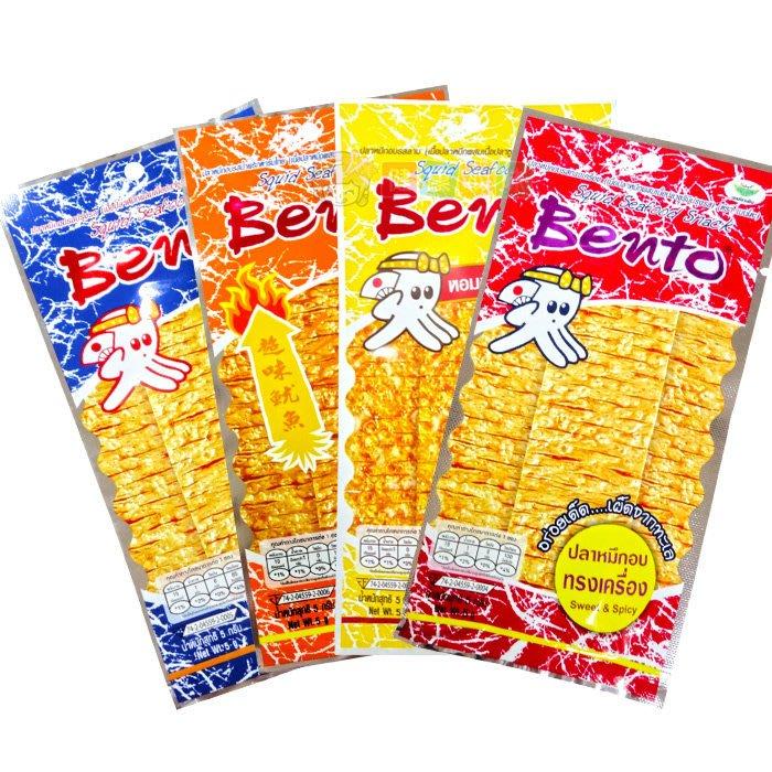 泰國 Bento 超味魷魚6g小包裝[TH885032301]健康本味