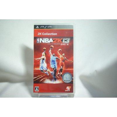 [耀西]二手 純日版 SONY PSP NBA 2K13 2K 精選集 含稅附發票 桃園市