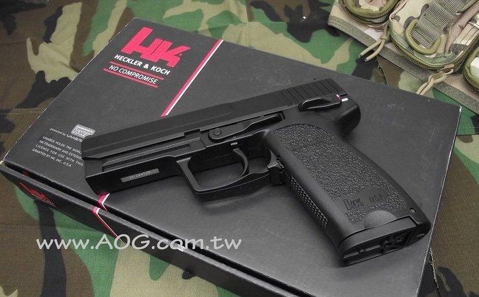 【翔準軍品AOG】《KSC》KWA USP.45 Auto 全金屬瓦斯手槍 厚座力+後定