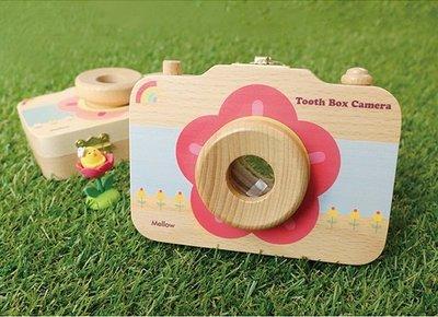 ♀高麗妹♀韓國 Mellow BABY TOOTH BOX 牙仙子-照相機 寶寶乳牙.臍帶.胎毛收集盒/保存盒(預購)
