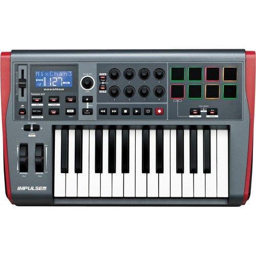 《民風樂府》Novation Impulse 系列 專業 USB/MIDI 控制鍵盤 25鍵 全新代理商公司貨 現貨在庫