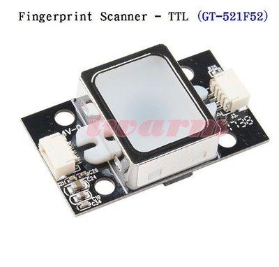 《德源科技》r)Sparkfun原廠 Fingerprint Scanner 指紋採集儀 TTL (GT-521F52)
